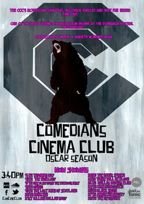 Comedians Cinema Club at Edinburgh poster