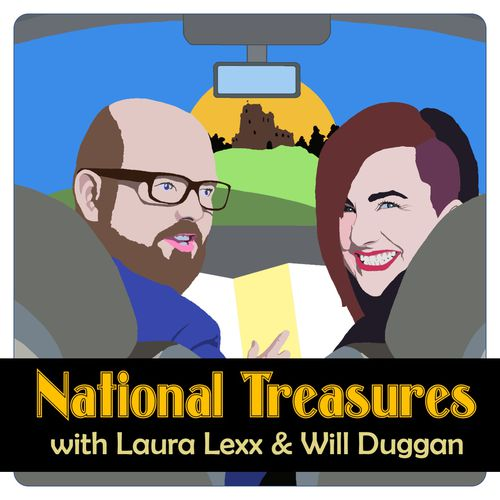 National Treasures podcast cover image